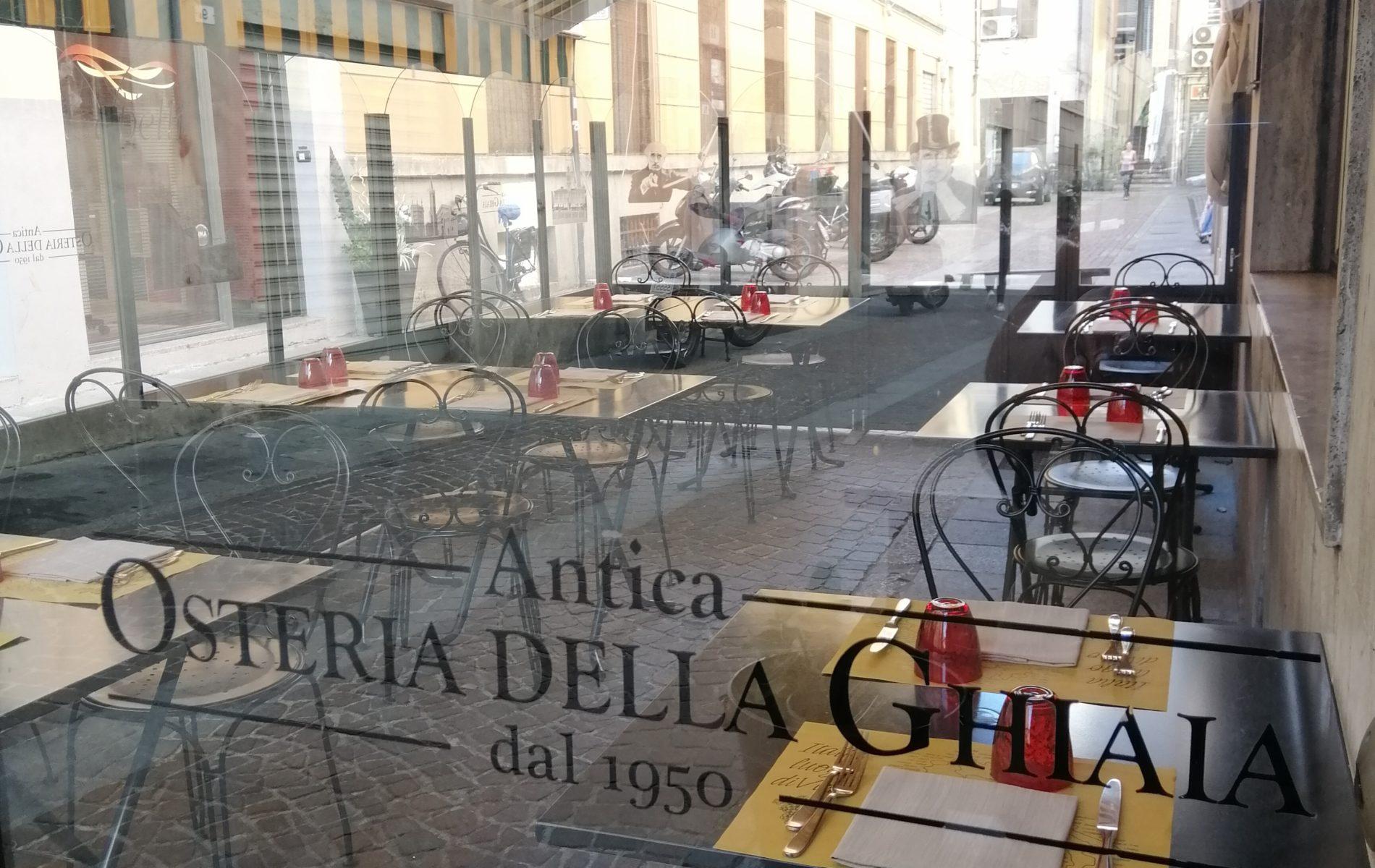 Dehor Antica Osteria della Ghiaia Parma
